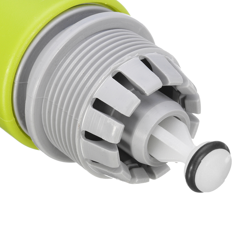 ABS Plastic Water Tap Hose Pipe Connector Quick Hose Coupler with Water Stop Green