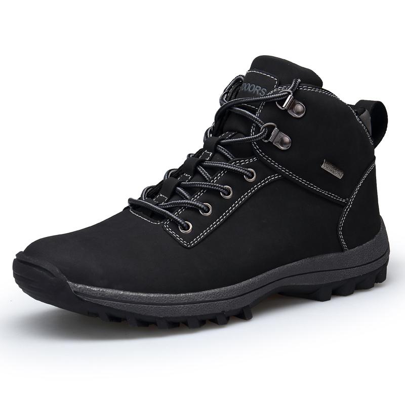 Men's Winter Snow Boots Outdoor Fashion Sneaker Warm Li