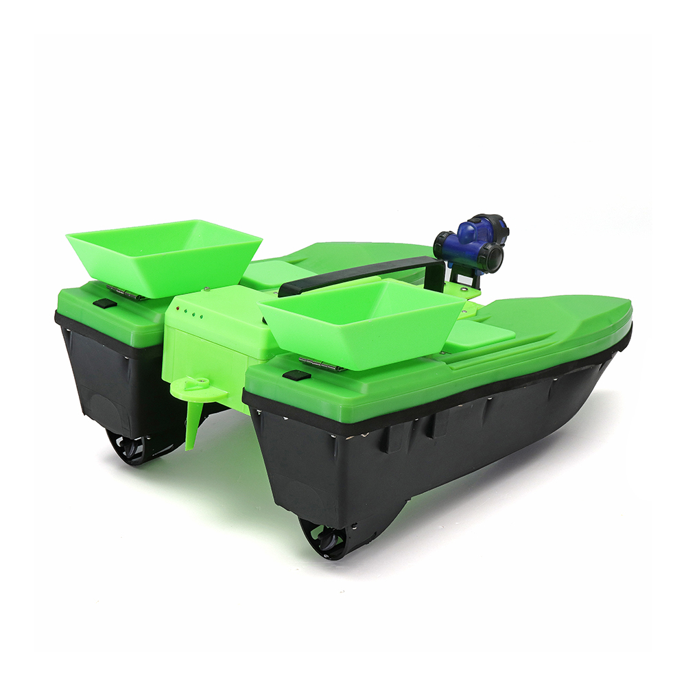 57cm Fishing Bait RC Boat 500M Remote Fish Finder 5.4km/h Double Motor Toys