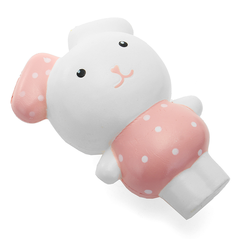 Squishy Rabbit Bunny 12cm Sweet Soft Slow Rising Collection Gift Decor Toy