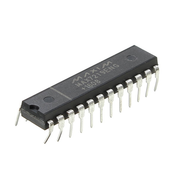 5Pcs IC MAX7219 PMIC DIP-24 Pin 8 Bit LED Display Driver