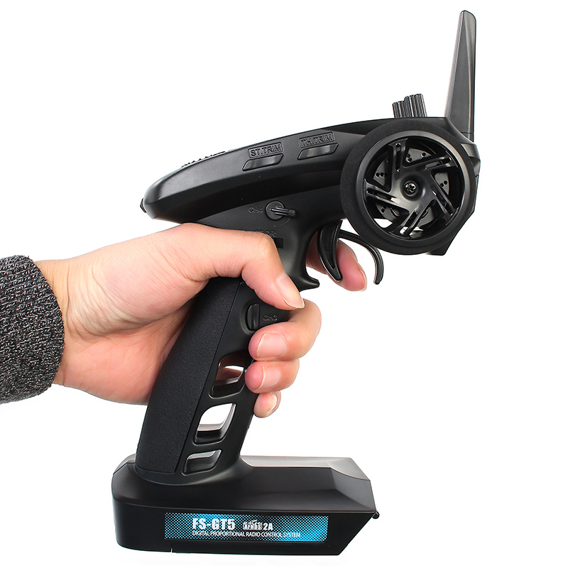 Flysky FS-GT5 2.4G 6CH RC Car Boat Parts Transmitter With FS-BS6 Receiver Built-in Gyro Fail-Safe