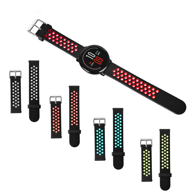 Bakeey Universal 20mm Replacement Watch Band Strap for Samsung Gear S3/ Pebble Time Amazfit