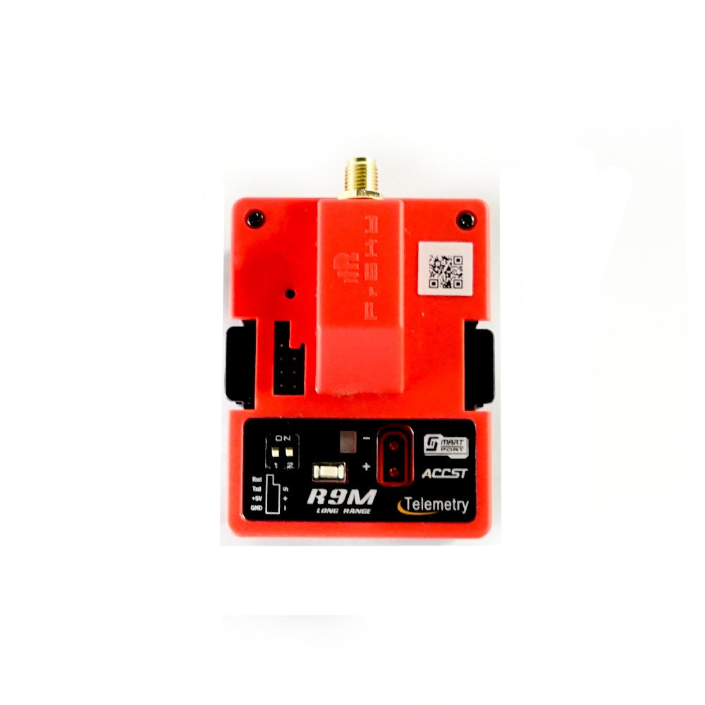 Frsky R9M 900MHz Long Range Transmitter Module & R9 Mini Receiver & Mounted Super 8 and T Antenana