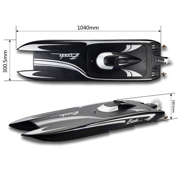 TFL 1040mm Zonda 2.4G RC BOAT With Double Motor 1133
