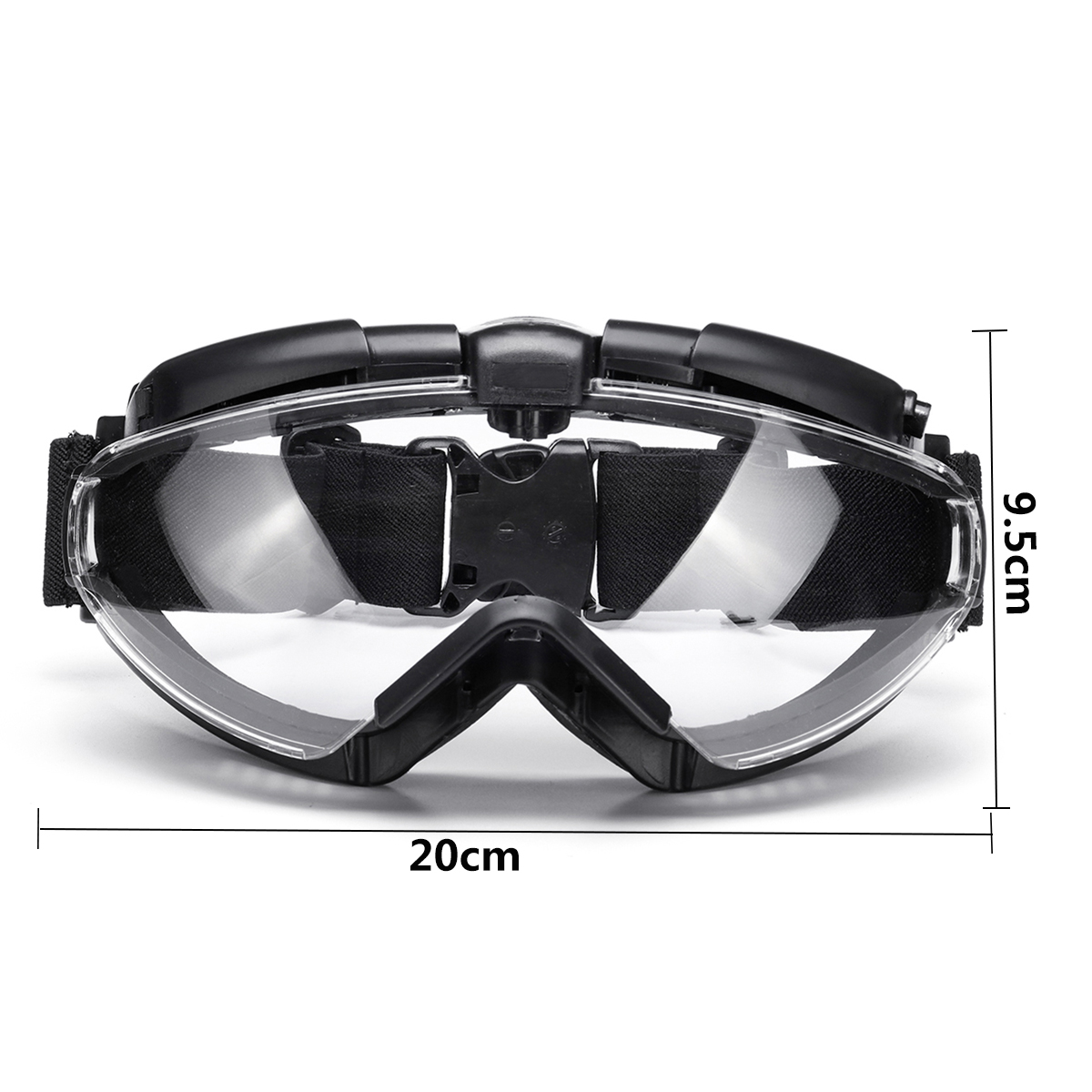 WosporT Goggles With Fan Anti-fog Dust Tactical Military Airsoft Regulator Safety Glasses