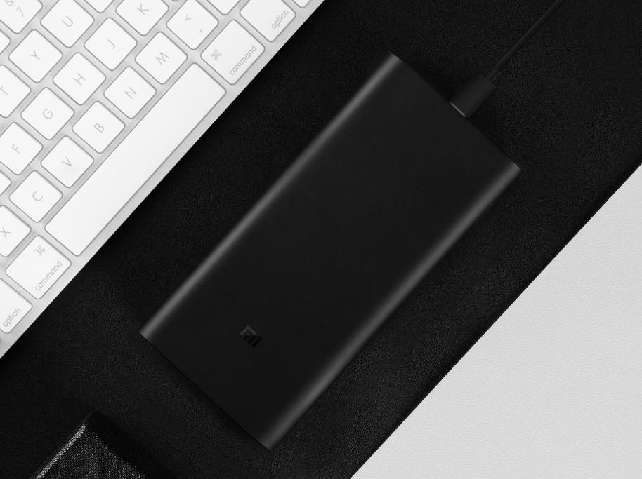 Original Xiaomi Power Bank 3 Pro 20000mAh USB-C Two-way 45W QC3.0 Fast Charge Power Bank for Mobile Phone