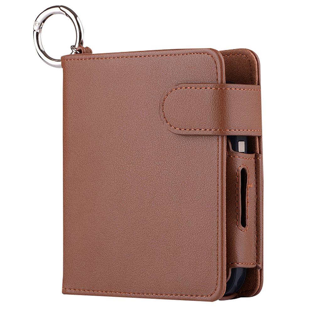 Men's iQOS Electronic Cigarette Wallet Made From Faux L