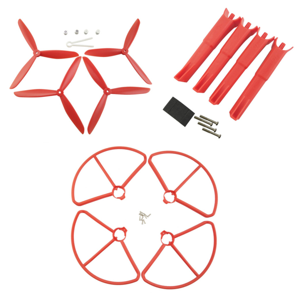 Propellers Protection Cover & Landing Gear Set For MJX B2W B2C RC Quadcopter