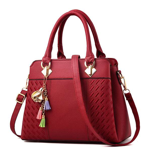 Women Plaid Small Pendant Designer Handbags Tote Bag