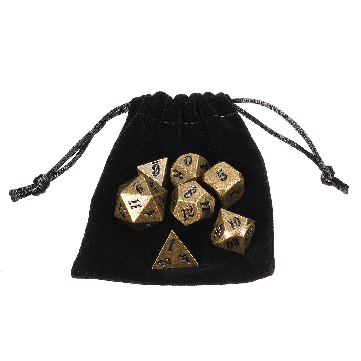 Antique Color Heavy Dice Set Polyhedral Dices Role Playing Games Dice Gadget RPG