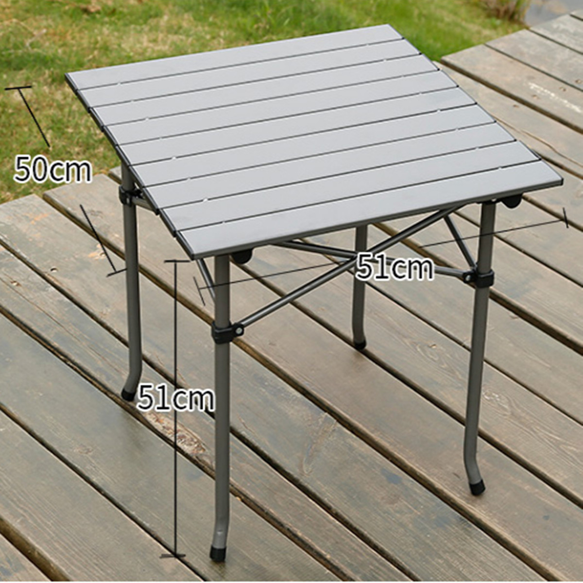 Outdoor Garden Portable Camping Picnic BBQ Hardware with Folding Table Chair Stools Set