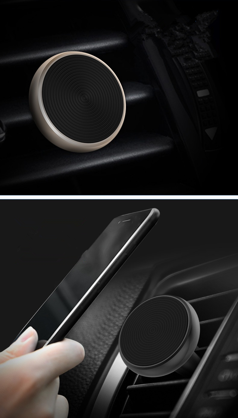 Dolphin Shape Magnetic Car Air Vent Holder Exquisite Stable Phone Mount for iPhone Samsung Xiaomi