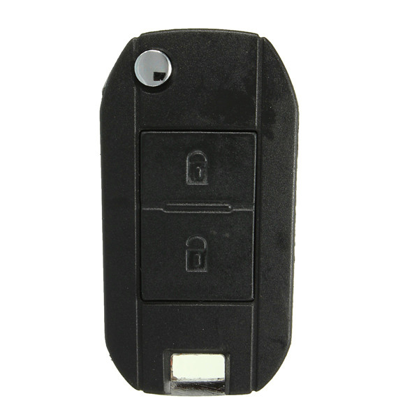2 Button Folding Remote Flip Key Case Shell Fob For Peugeot 407 607 307 308 405