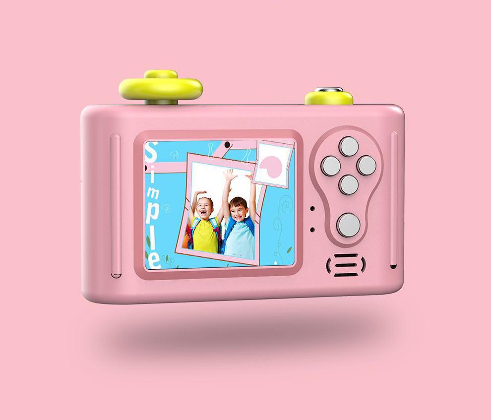 Cute Pink Blue 5MP 1080P HD 1.5 Inch Screen Mini Kid Children Camera