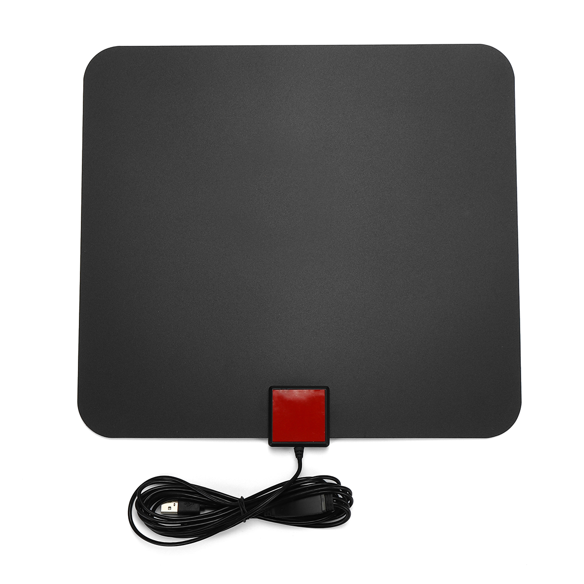 Digital TV Antenna 65 Miles Range 1080P Amplified Booster HDTV UHF VHF FM