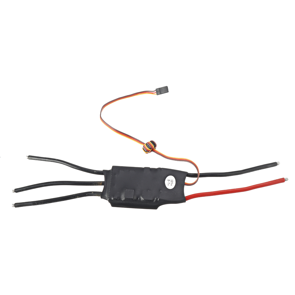 125A Brushless Governor Helicopter ESC with Slow Start Function 2-7S
