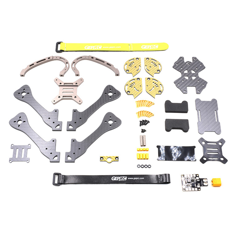 GEPRC GEP LX Leopard Gold Edition LX4 LX5 LX6 195mm 220mm 255mm FPV Racing Frame 4mm Arm