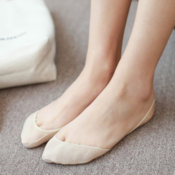 Women Summer Invisible Boat Socks Half Cotton Bottom Wire Harness Stealth Socks