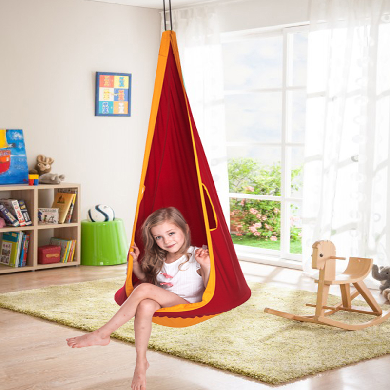 1.5m Children Hammock Swing Chair Outdoor Camping Hanging Seat Swing Max Load 50kg