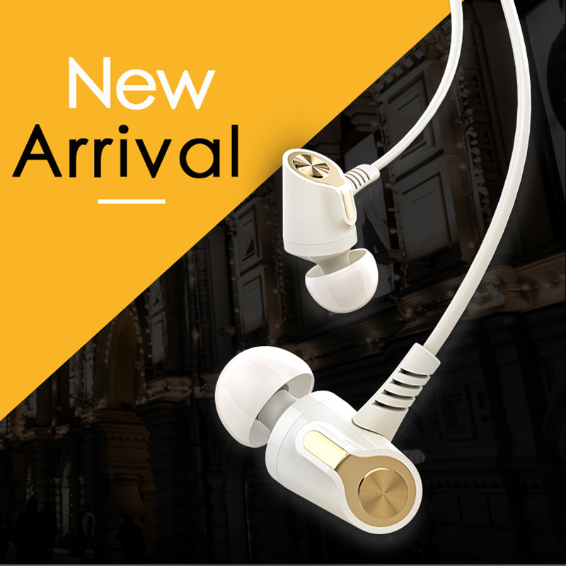 Langsdom EH360 Outdoor Metal Bass In-ear Earphone Headphone for Samsung S8 Note8 Xiaomi MIX2