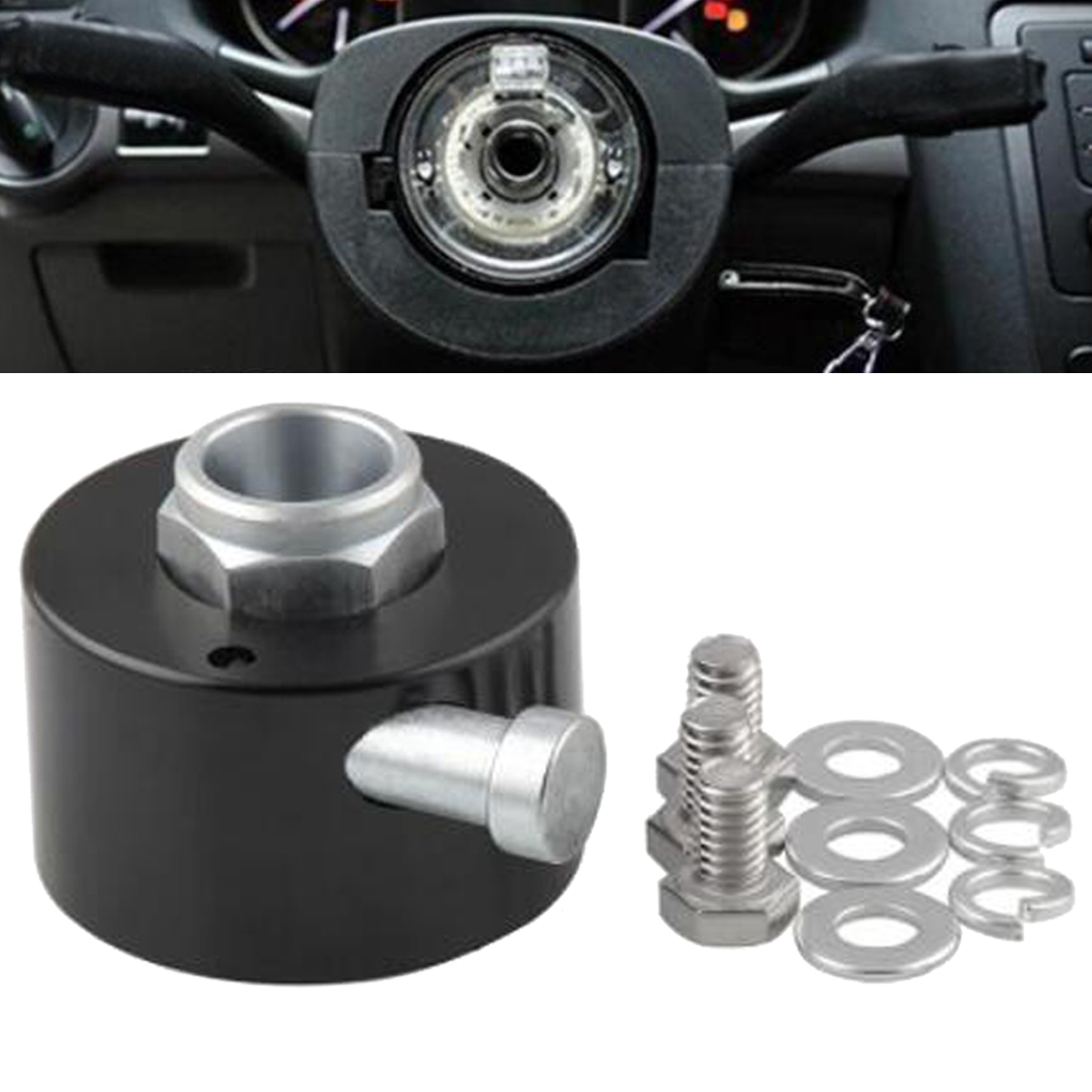 Universal Car Steering Wheel Quick Release Disconnect Hub 3/4