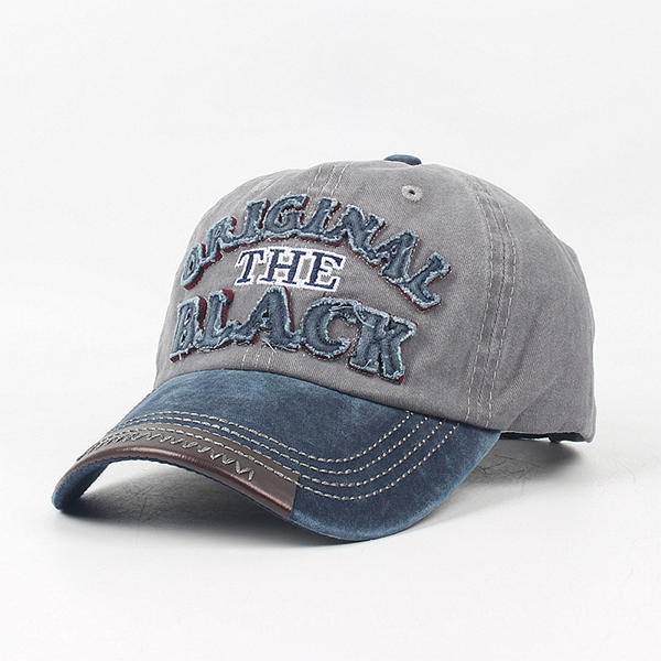 Men Sport Cotton Letter Embroidery Baseball Cap