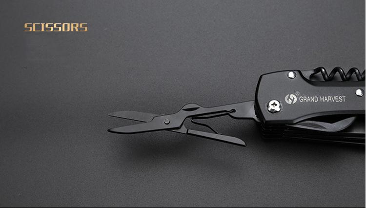 IPRee® 155mm 420H Steel Multi-function Folding Knife Portable Tool Pliers EDC Survival Tools Kit