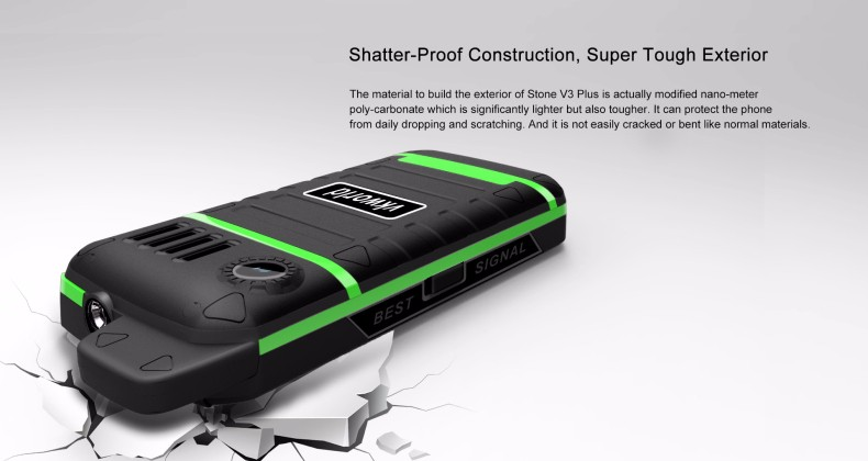 Vkworld Stone V3 Plus 2.4 Inch 3000mAh IP54 Power Bank Dual Sim Strong Signal Outdooors Mobile Phone