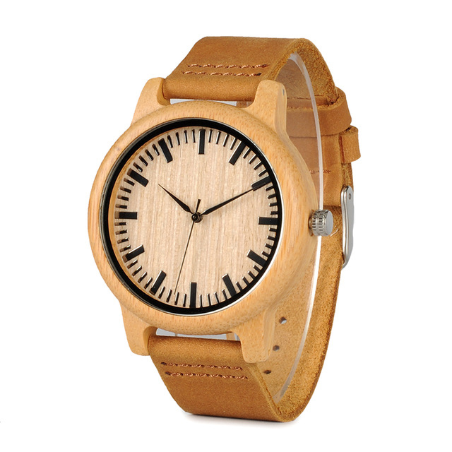 BOBO BIRD WA16 Simple Design Wooden Watch