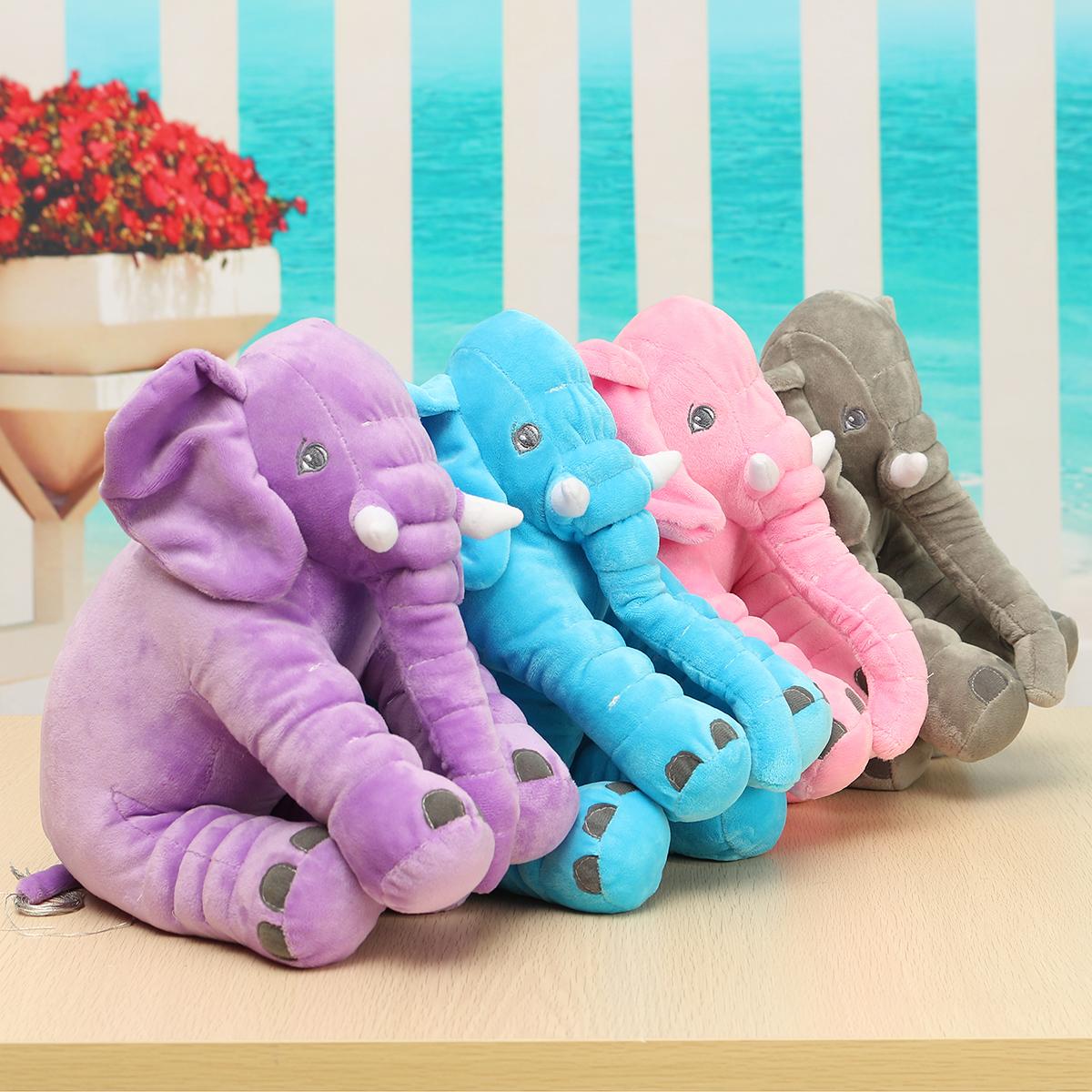 Baby Kinder Kind weicher Plüsch Elefant Schlaf Kissen Kind