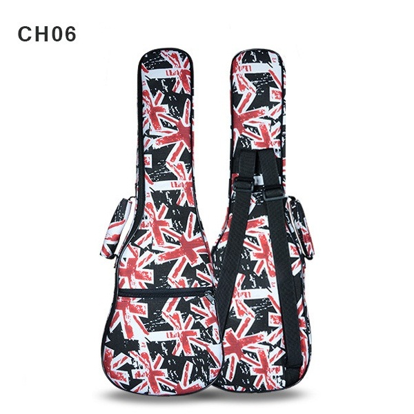 23/24 Inch Ukulele Cotton Colorful Bag Double Shoulder Bag