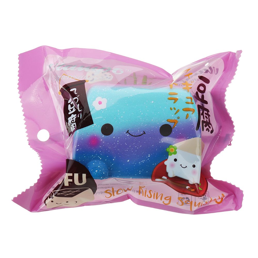 Vlampo Japanese Tofu Squishy Toy 8*8*6CM Licensed Slow Rising With Packaging Collection Gift
