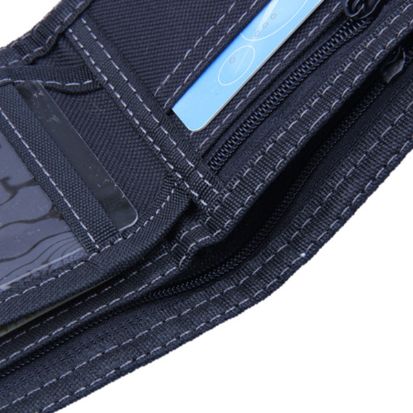 Men Women Original Jean Fashion Zipper Pocket Wallet