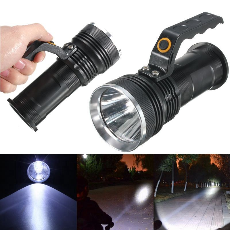Tactical Flashlight Professional Police Rechargeable Cree Led