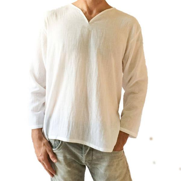 100% Cotton Summer Men's Loose T-shirt