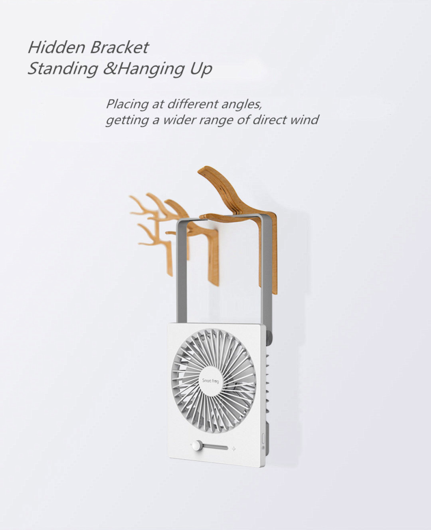 XIAOMI Stepless Foldable Mini Fan Handheld Cool Summer Fan