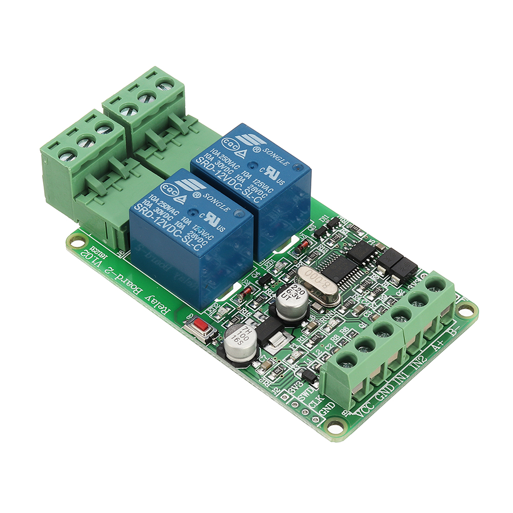Modbus Rtu 2 Way Relay Module Output Channel Switch I For Sale Using