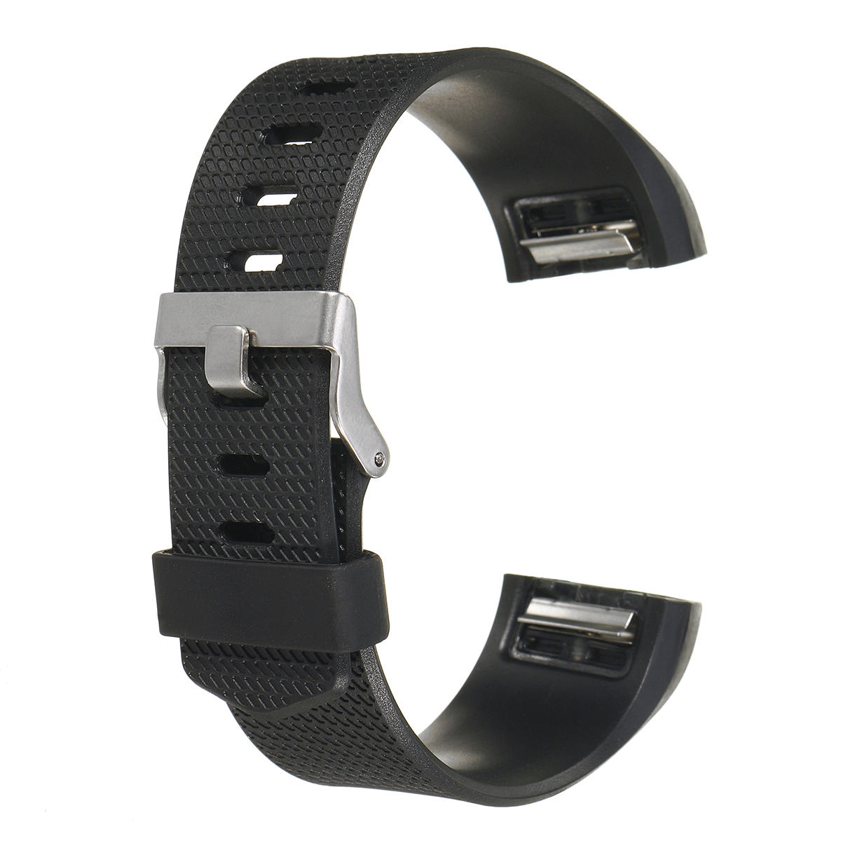 TPE Replacement Anti-skid Bracelet Watch Band for Fitbit Charge 2