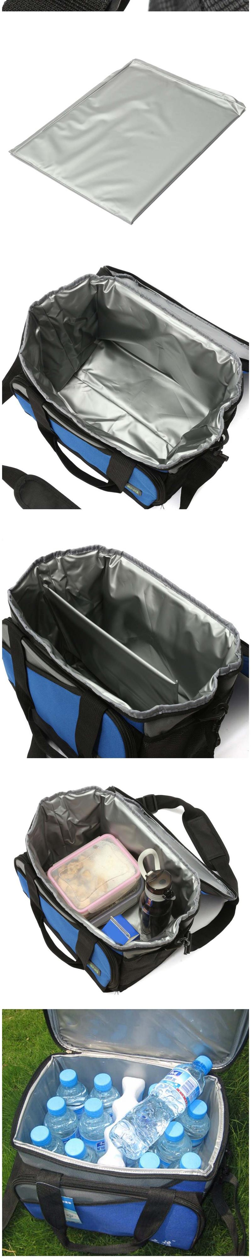IPRee Travel Storage Bag Folding Camping Hiking Picnic BBQ Ice Bag Pack Drink Food Insulated Cooler Box