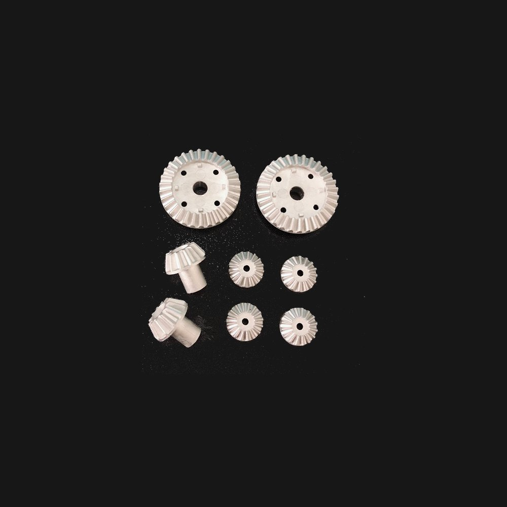 2 Set 16PC Upgrade Metal Gear for Wltoys 12428-A 12428-B 12428-C /12423 Rc Car Parts