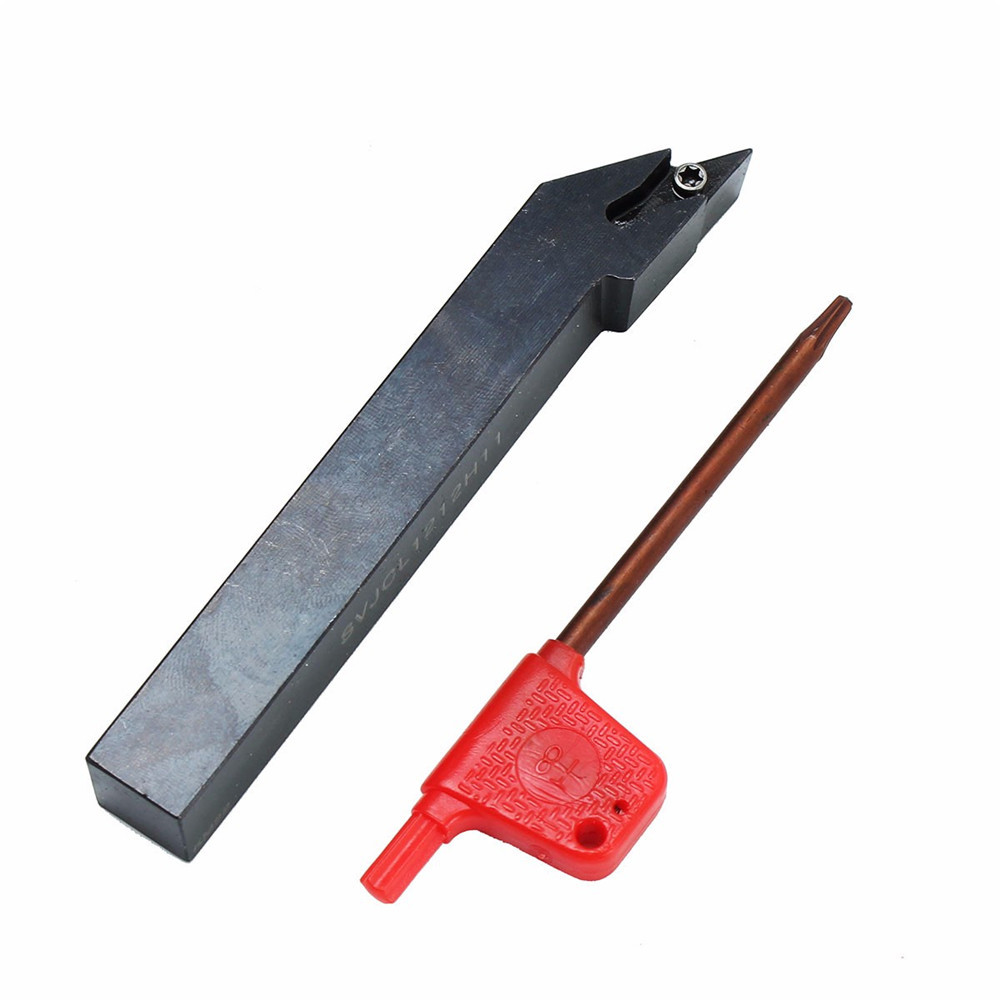 SVJCL1212H11 External Lathe Turning Tool Holder with Wrench