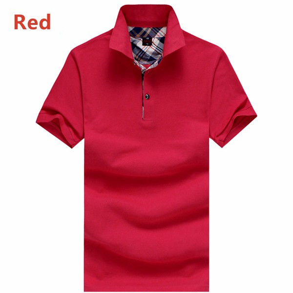 Men's Cotton Lapel Golf Shirt