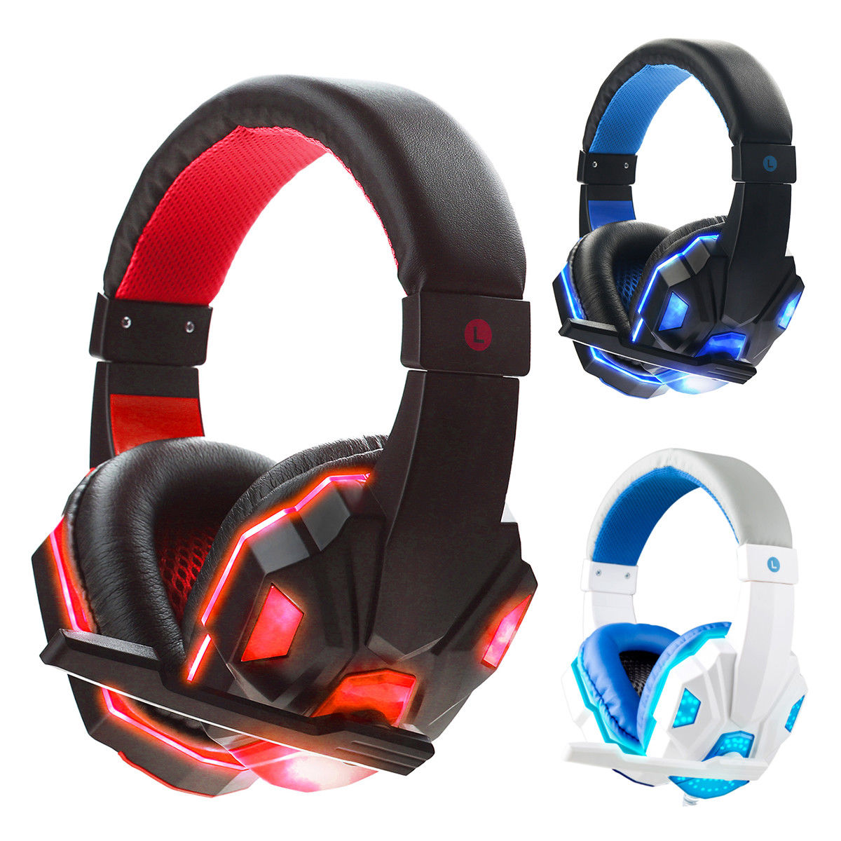 SY830MV Deep Bass Game Headphone Stereo Over-Ear Gaming