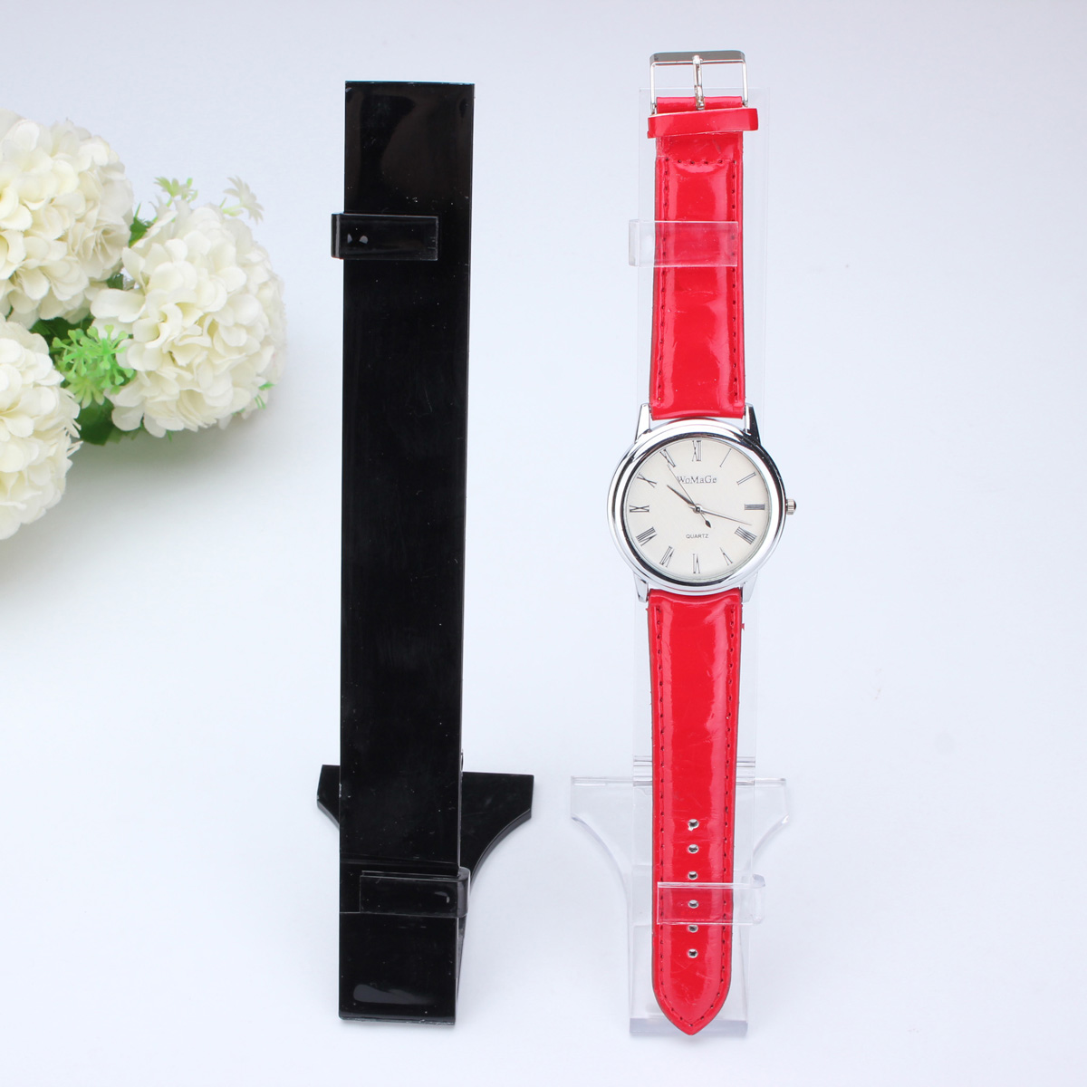 Plastic Wrist Watch Displays Rack Holder Show Stand Shop Retail Showcase Fashion
