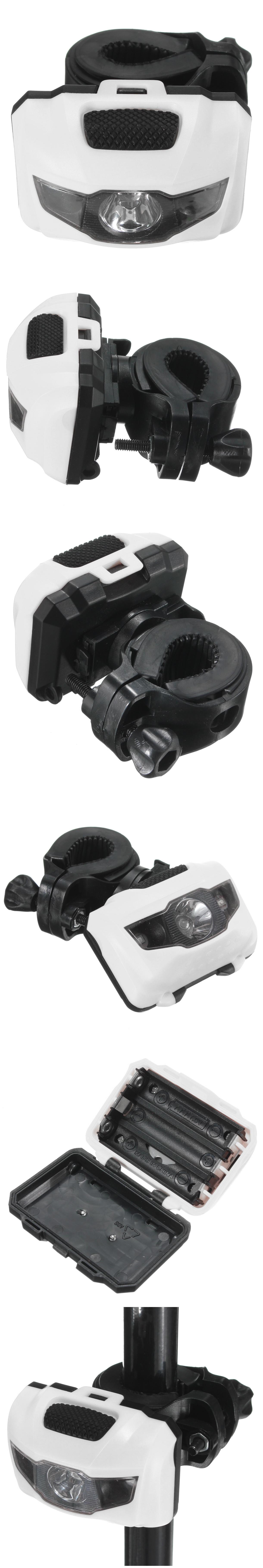 Bicycle Bike Light Front Rear Tail Light Lamp Mini Flash LED Light 3 modes