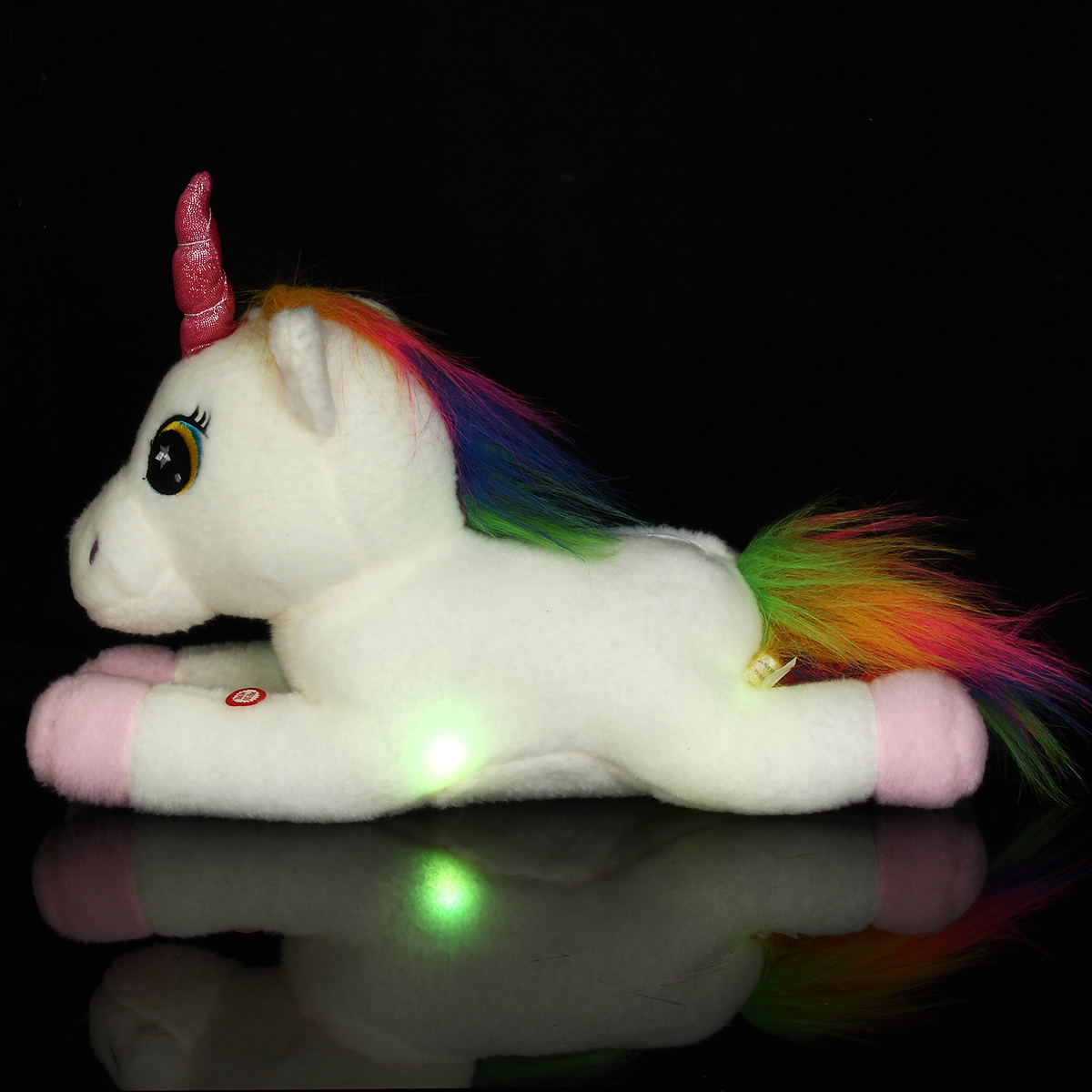 40cm Big LED Light Up Cute Unicorn Stuffed Animals Plush Doll Soft Toys Gifts