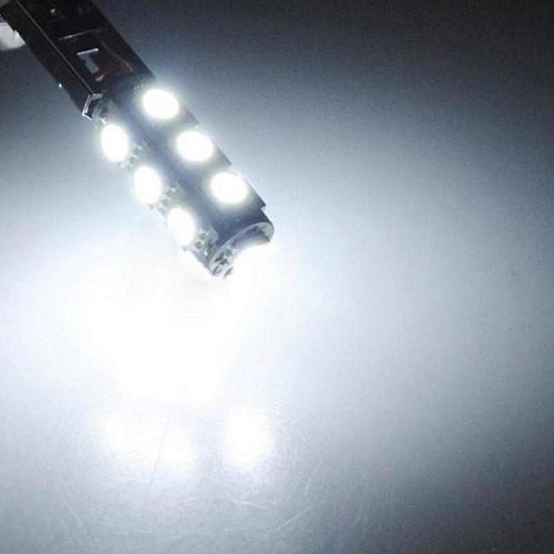 Single DC12V H1 White 5050 13SMD LED Car Fog Lights Headlight Lamp