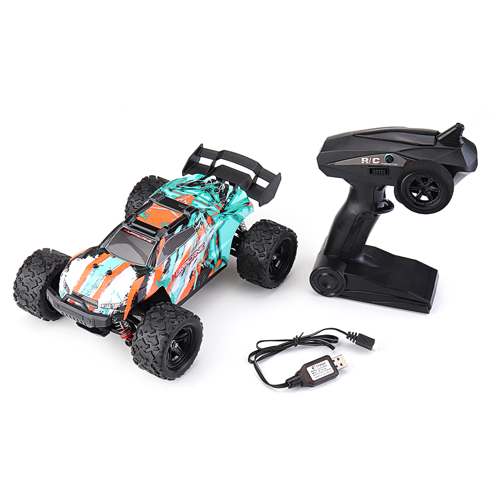 HS 18322 1/18 2.4G 4WD 36km/h RC Car Model Proportional Control Big Foot Monster Truck RTR Vehicle - Photo: 6