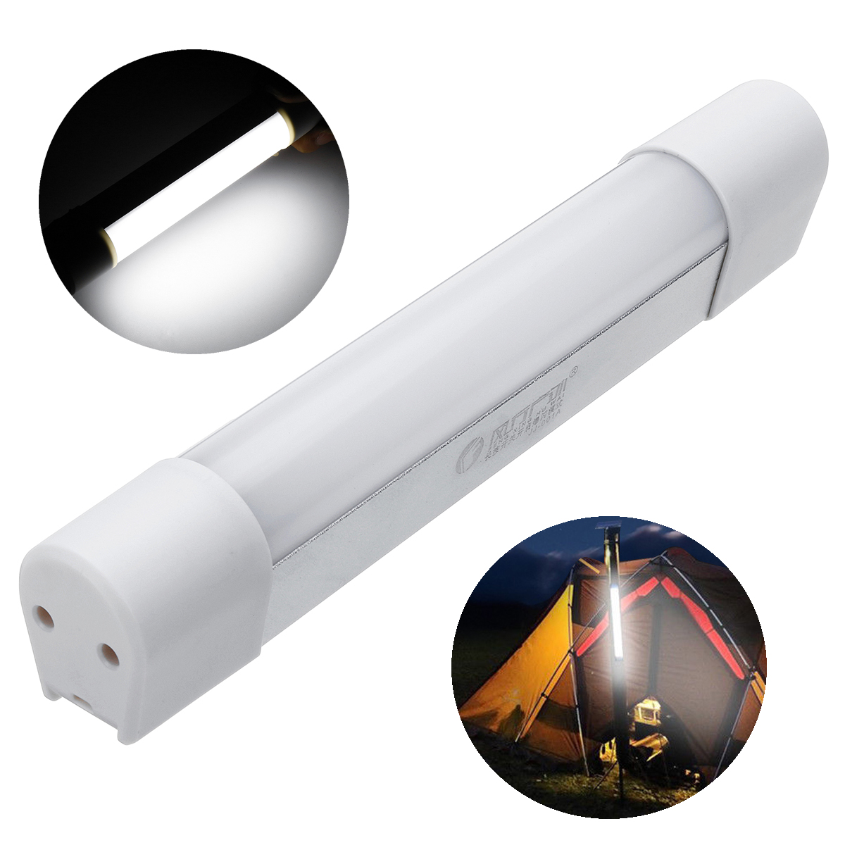 300LM Outdoor Camping Tent LED Magnetic Lamp USB 4400mA